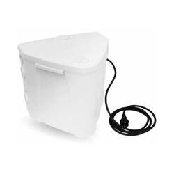 ABS Hebeanlage Schmutzwasserhebeanlage Sanimax R 202 mit Pumpe und Rückschlagklappe 07565120