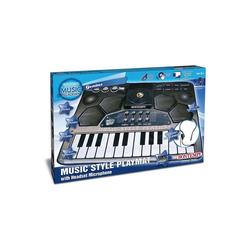 Bontempi Spielzeug-Musikinstrument Musikmatte, mit Headset-Mikrofon