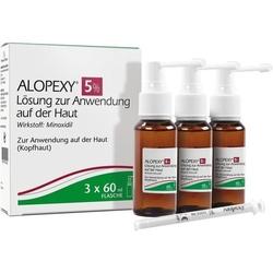 ALOPEXY 5% Lösung zur Anwendung auf der Haut 180 ml