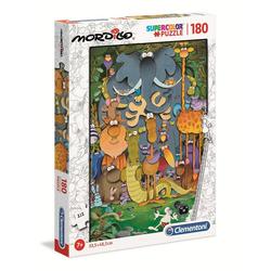 Clementoni® Puzzle 29204 Mordillo Supercolor Das Foto 180 Teile, 180 Puzzleteile