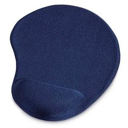 hama Mousepad mit Handgelenkauflage Ergonomic blau