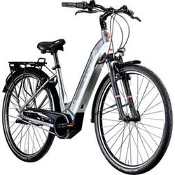 Zündapp Z905 700c E-Bike E Citybike 28 Zoll Pedelec Bosch Stadtrad Hollandrad... 45 cm, grau/weiß