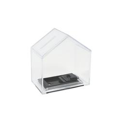 HMF Spardose Spardose 47720, Acryl Spendenbox, 11 x 10 x 6 cm