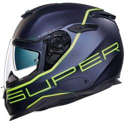 Nexx SX.100 Superspeed Helm, grün-blau, Größe XS
