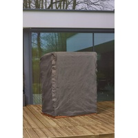 Mandalika Garden Schutzhülle für Strandkörbe Gartenmöbel Hülle 105-150cm Breite B150xT105xH160/135 cm