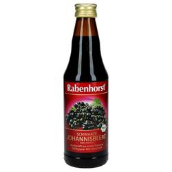 RABENHORST schwarzer Johannisbeer Bio Muttersaft 330 ml