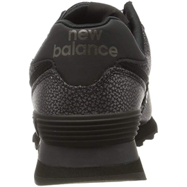 NEW BALANCE WL574 Worn Metallic black/black metallic 36