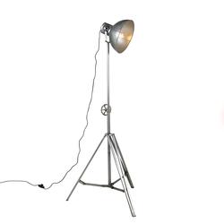 Industrielle Stehlampe Stahl - Samia Sabo