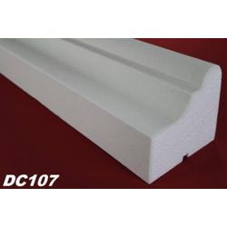 DC107 Fensterbankprofil Fenster Zierprofil 155x140mm Fassadenprofil Fassadenstuck Profil Leiste 200cm