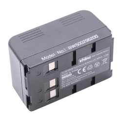 vhbw NiMH Akku 3600mAh (4.8V) für Kamera Camcorder Video Blaupunkt CC-664, CC-684, CC-695, SC-625, SC-634, SCR-250 wie VW-VBS10, VW-VBS20, VW-VBS40.