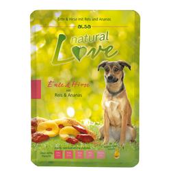 alsa natural Love Ente & Hirse mit Reis und Ananas, 30 x 300 g, Hundefutter
