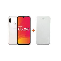 Gigaset Gigaset GS290 + Book Case whitw Smartphone (16,00 cm)