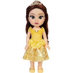 Disney Princess Belle Puppe 35 cm braun/gold
