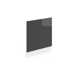 Vicco Frontblende Geschirrspülerblende 60 cm Küchenschrank Küchenzeile R-Line grau