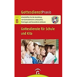 Gottesdienste für Schule und Kita  m. CD-ROM - Buch