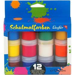 Schulmalfarben VE=12 Farben a 20ml