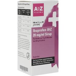 Ibuprofen AbZ 20 mg/ml Sirup