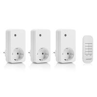 Smartwares SH4-99552 Funk Steckdosen-Set Innenbereich 1000W