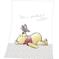 Babydecke Winnie the Pooh, Walt Disney, mit niedlichem Motiv