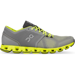 On Cloud X - Stabilitäts-Laufschuh - Herren Grey/Yellow 7 US