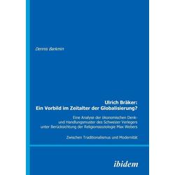 Ulrich Bräker als Buch von Dennis Barkmin