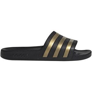 adidas Adilette Aqua Slipper Herren schwarz/gold UK 13 | EU 48 2/3 2021 Badeschuhe & Sandalen schwarz, gold UK 13 | EU 48 2/3