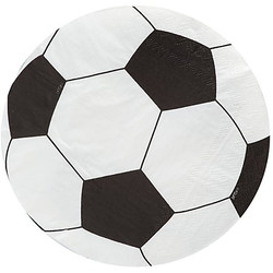 """Papierservietten """"Fußball"""", 33 cm Ø, 20 Stück"""