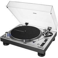 Audio-Technica AT-LP140XP Direkt angetriebener DJ-Plattenspieler Silber