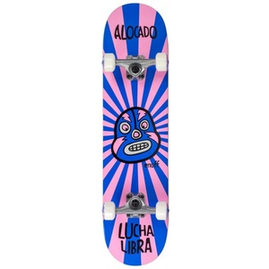 ENUFF LUCHA LIBRE MINI Skateboard 2021 pink/blue