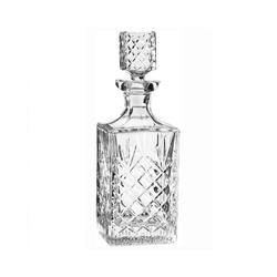 Newport Karaffe JFK; Dekanter / Whiskykaraffe aus Kristallglas
