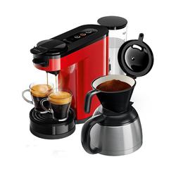 Philips Senseo Switch HD6592/80 Kaffeemaschinen - Rot / Schwarz