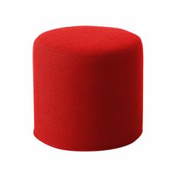 Softline Hocker Drum rot, Designer Softline Design Team, 40 cm