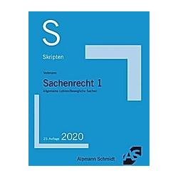Skript Sachenrecht 1. Till Veltmann  - Buch