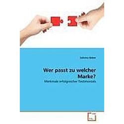 Wer passt zu welcher Marke?. Sabrina Beber  - Buch
