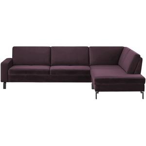 Ecksofa ¦ lila/violett ¦ Maße (cm): B: 199 H: 85 T: 102 » Möbel Kraft