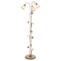 Stehlampe Florentiner natur