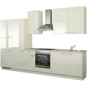 Küchenzeile mit Elektrogeräten  Duisburg ¦ creme ¦ Maße (cm): B: 340