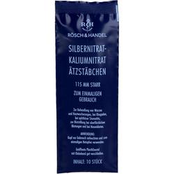 SILBERNITRAT-Kaliumnitr.Ätzstäb.Ätzstift 115mm st. 10 St.