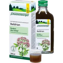 BALDRIAN HEILPFLANZENSÄFTE Schoenenberger 200 ml