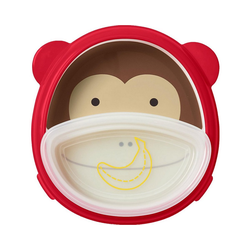 Skip Hop Kindergeschirr-Set Zoo Essgeschirr Affe