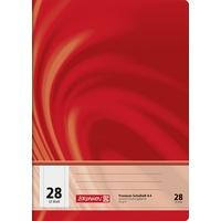 Brunnen Schulheft A4 Lineatur 28) 90 g/qm 32 Blatt,