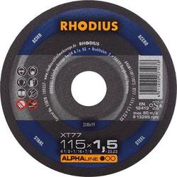 Rhodius Trennscheibe XT77 115 x 1,5mm ger.