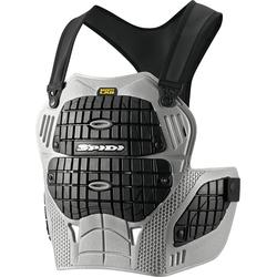 Spidi Thorax Warrior Z157, Brustprotektor - Grau/Schwarz - Einheitsgröße