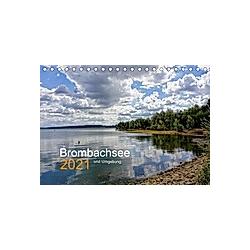 Brombachsee und Umgebung (Tischkalender 2021 DIN A5 quer) - Kalender