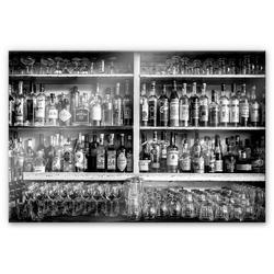 Wall-Art Küchenrückwand Klassische Bar Spritzschutz, (1-tlg) bunt 100 cm x 70 cm x 0,4 cm
