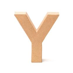 VBS Deko-Buchstaben Papp-Buchstabe, 17,5 cm hoch 16.0 cm x 17.5 cm x 5.5 cm