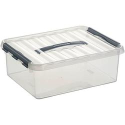 sunware Q-line Aufbewahrungsbox 12,0 l transparent 40,0 x 30,0 x 14,0 cm