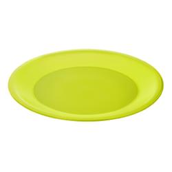 Rotho CARUBA Teller, tief, Teller aus Kunststoff, Farbe: lime grün