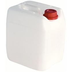 Camping-Wasserkanister, weiß, aus Kunststoff, leerer Kanister, 5 Liter - Kanister
