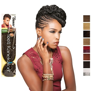 African Collection JUMBO BRAID Sensationnel  Braids, Farbe: 850 (Dunkelviolet)